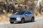 2020 Mitsubishi Eclipse Cross SEL S-AWC in Alloy Silver Metallic - Driving Front Left Three-quarter View