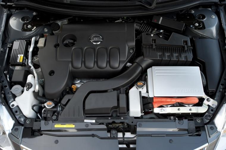 2010 nissan altima hybrid 2 5l 4 cylinder engine picture image. Black Bedroom Furniture Sets. Home Design Ideas