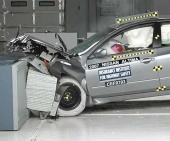 2010 Nissan Altima IIHS Frontal Impact Crash Test Picture