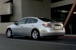 2010 Nissan Altima 3.5 SR in Radiant Silver Metallic - Static Rear Left Three-quarter View