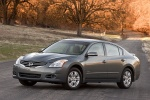 2010 Nissan Altima Hybrid in Dark Slate Metallic - Static Front Left Three-quarter View