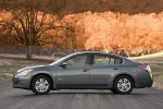 2010 Nissan Altima Hybrid in Dark Slate Metallic - Static Side View