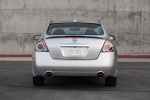2010 Nissan Altima 3.5 SR in Radiant Silver Metallic - Static Rear View