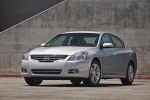 2011 Nissan Altima 3.5 SR in Radiant Silver Metallic - Static Front Left View