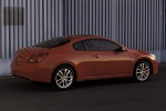2011 Nissan Altima Coupe 3.5 SR in Red Alert - Static Rear Right Three-quarter View