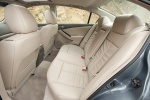 Picture of 2011 Nissan Altima Hybrid Rear Seats in Blonde