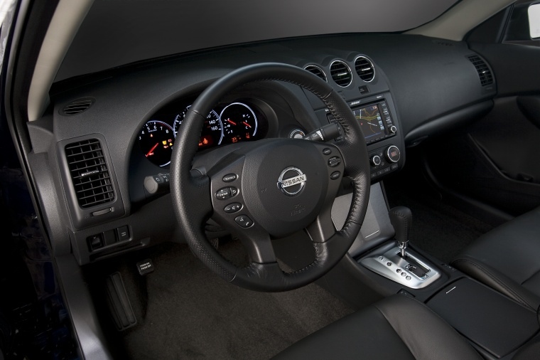 2012 Nissan Altima Sedan Interior In Charcoal Color Picture Image