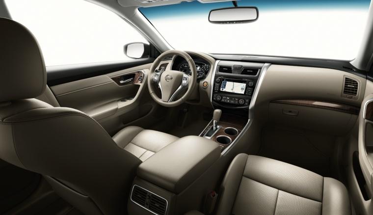 Delightful 2013 Nissan Altima Sedan 3.5 SL Interior In Blond
