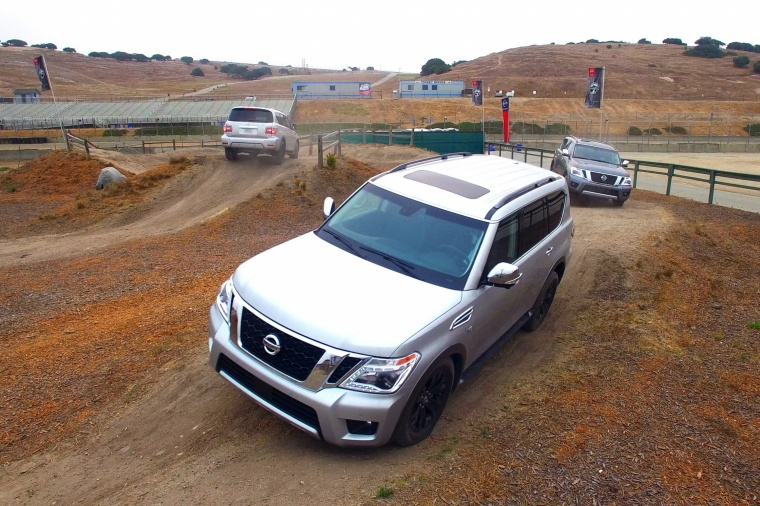 2018 Nissan Armada Platinum Picture