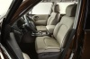 2018 Nissan Armada Platinum Front Seats Picture