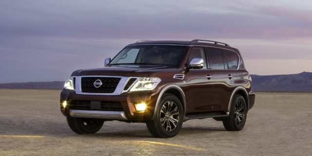 2018 Nissan Armada Pictures