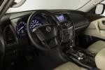 Picture of a 2019 Nissan Armada Platinum's Interior in Almond