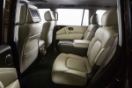 Picture of 2019 Nissan Armada Platinum Rear Seats in Almond