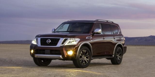 2020 Nissan Armada Pictures