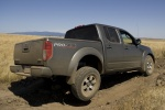 2010 Nissan Frontier Crew Cab PRO-4X 4WD in Night Armor - Driving Rear Right Three-quarter View