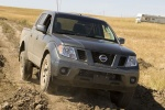 2010 Nissan Frontier Crew Cab PRO-4X 4WD in Night Armor - Driving Front Right View