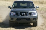 2010 Nissan Frontier Crew Cab PRO-4X 4WD in Night Armor - Driving Frontal View