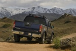 2010 Nissan Frontier Crew Cab PRO-4X 4WD in Navy Blue - Static Rear Right View