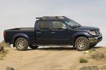 2010 Nissan Frontier Crew Cab PRO-4X 4WD in Navy Blue - Static Side View