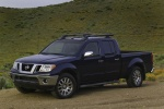 2010 Nissan Frontier Crew Cab PRO-4X 4WD in Navy Blue - Static Front Left Three-quarter View