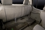 2010 Nissan Frontier Crew Cab PRO-4X 4WD Rear Seats Folded