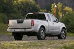 2012 Nissan Frontier King Cab PRO-4X 4WD in Brilliant Silver - Rear Right Three-quarter Rear Right Three-quarter View