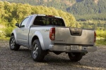 2015 Nissan Frontier King Cab PRO-4X 4WD in Brilliant Silver - Static Rear Left View