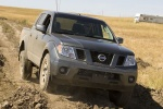 2015 Nissan Frontier Crew Cab PRO-4X 4WD in Night Armor - Driving Front Right View