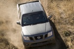 2015 Nissan Frontier Crew Cab PRO-4X 4WD in Night Armor - Driving Frontal Top View