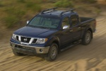 2015 Nissan Frontier Crew Cab PRO-4X 4WD - Driving Front Left Three-quarter Top View