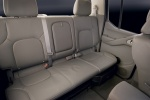 2015 Nissan Frontier Crew Cab PRO-4X 4WD Rear Seats