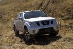 2015 Nissan Frontier King Cab PRO-4X 4WD in Brilliant Silver - Driving Front Right View