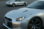 2011 Nissan GT-R Coupe in Super Silver 3-Coat Metallic - Static