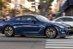 2014 Nissan GT-R Coupe in Deep Blue Pearl - Driving Right Side View