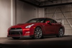 2016 Nissan GT-R in Regal Red - Static Front Left Three-quarter View