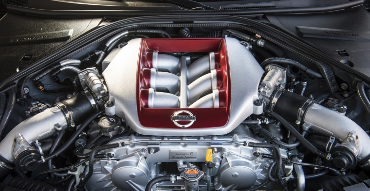 2017 Nissan GT-R Coupe Premium 3.8L V6 twin-turbo Engine Picture