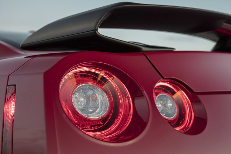 2017 Nissan GT-R Coupe Track Edition Tail Light Picture