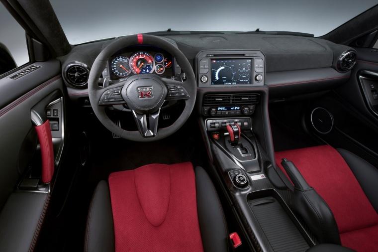2017 Nissan GT-R Coupe NISMO Cockpit Picture