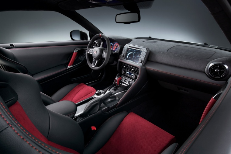 2017 Nissan GT-R Coupe NISMO Interior