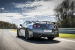 2017 Nissan GT-R Coupe Premium in Gun Metallic - Driving Rear Left View