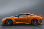 2017 Nissan GT-R Coupe Premium in Blaze Metallic - Static Side View