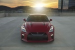 2017 Nissan GT-R Coupe Track Edition in Solid Red - Static Frontal View