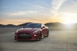 2017 Nissan GT-R Coupe Track Edition in Solid Red - Static Front Left View