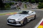 2017 Nissan GT-R Coupe Track Edition in Super Silver Metallic - Static Front Left View