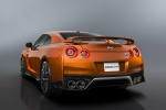 2017 Nissan GT-R Coupe Premium in Blaze Metallic - Static Rear Left View