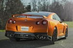 2017 Nissan GT-R Coupe Premium in Blaze Metallic - Static Rear Right View