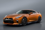 2018 Nissan GT-R Coupe Premium in Blaze Metallic - Static Front Left Three-quarter View