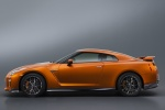 2018 Nissan GT-R Coupe Premium in Blaze Metallic - Static Side View