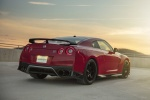 2018 Nissan GT-R Coupe Track Edition in Solid Red - Static Rear Right View