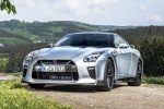 2018 Nissan GT-R Coupe Track Edition in Super Silver Metallic - Static Front Left View